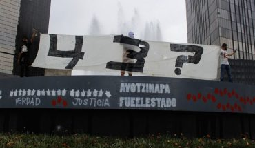 Federal police involved in Ayotzinapa case is handed over to the Prosecutor's Office