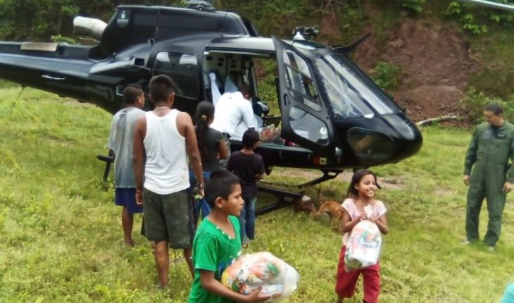 FondEN and FOEDEN aid will arrive at the coast of Jalisco for the nearly 20,000 affected by Hernan