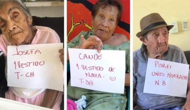 Grandparents in Lazarus Cardenas asylum ask for gifts from the population