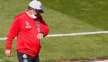 """Gualberto Jara: """"This performance leaves us very worried"""""""