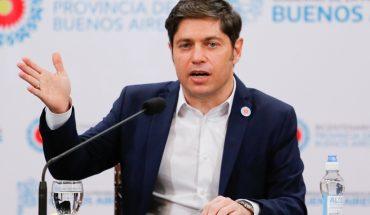 "Kicillof pointed at Macri: ""When it was their turn to rule they broke everything"""
