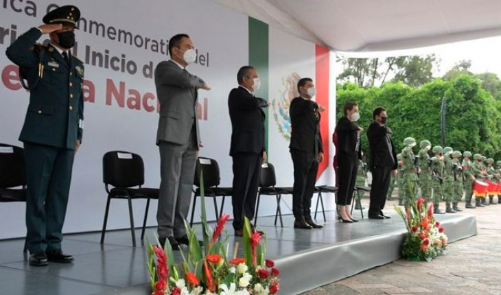 Morelia edil headlines CCX ceremony Anniversary of the beginning of Mexico's Independence