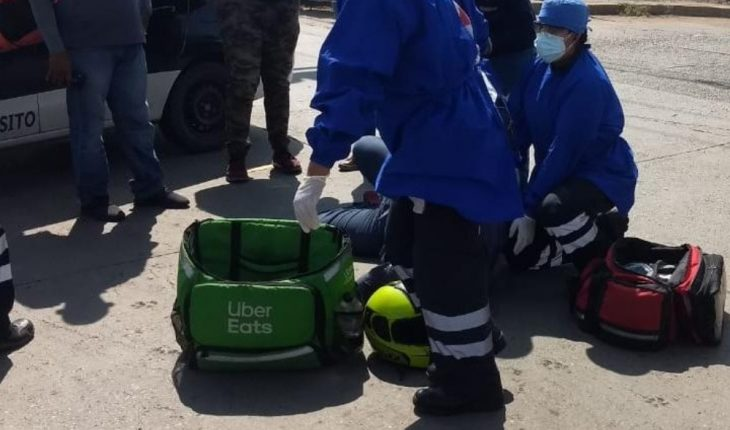 Motorcyclist injured after drifting in Mazatlan
