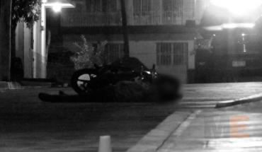 Quitan la vida a motociclista en la colonia La Esperanza de Jacona, Michoacán