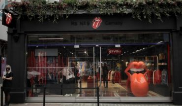 Rolling Stones open first official clothing venue in London