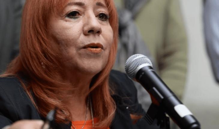 """Rosario Piedra denies gourmet food at CNDH: """"we ate rice and beans"""""""