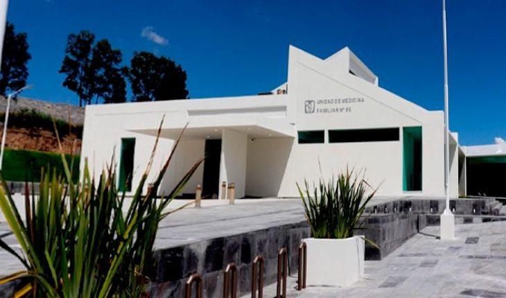 Starts new IMSS Family Medicine Unit operations in Tarímbaro