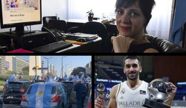 The 2021 budget will have a gender perspective, opposition march in different points of the country, Campazzo champion and MVP with Real Madrid and much more...