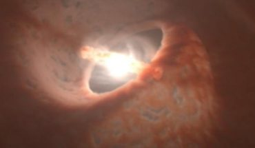 They capture unusual planetary disc formation in a three-star solar system