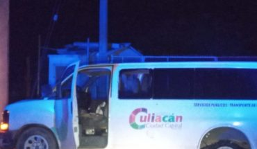 Two assailants steal vans from Culiacán Town Hall and are shot