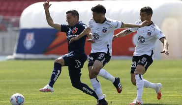 University of Chile and Colo Colo signed a fried draw at the Estadio Nacional