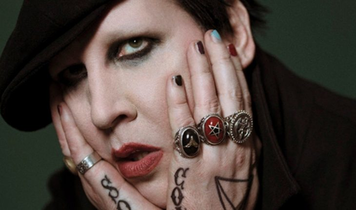 What movie makes Marilyn Manson cry?