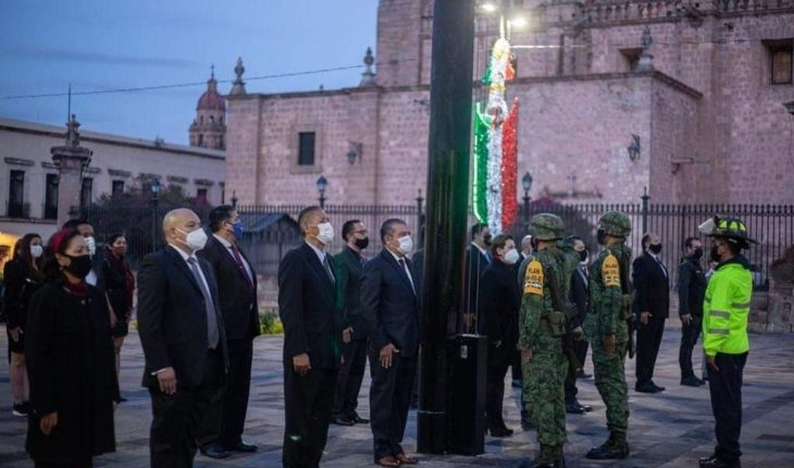 Without contingency macros, Morelia government commemorates 19S victims