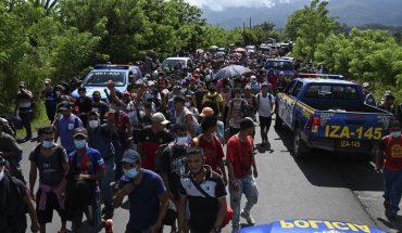 """AMLO califica a caravana migrante como una """"provocación"""""""