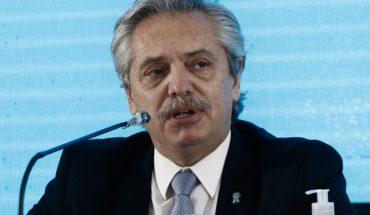 Alberto Fernández se refirió a la protesta en el domicilio de CFK