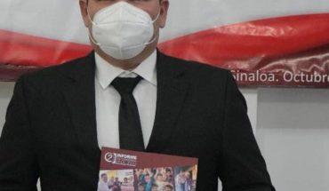 Alcalde de Choix, Omar Gill Santini, rinde su segundo informe