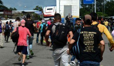 Así ha sido el recorrido de la caravana migrante de Honduras