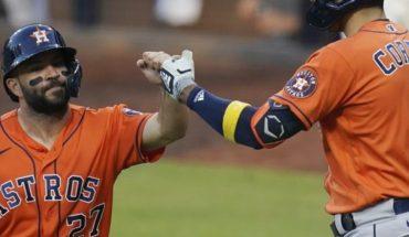 Astros vence a Tampa y amarra séptimo juego