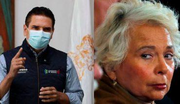 """Aureoles le responde a Sánchez Cordero, """"México le debe respeto a quien respeta a México"""""""
