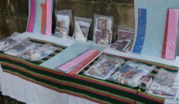 Ayuntamiento de Morelia inicia entrega de útiles para niños de preescolar y primaria en la tenencia de Tiripetío