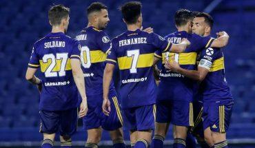 Boca le ganó 3 a 0 a Caracas y superó a River como el mejor argentino clasificado