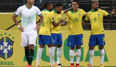 Brasil aplastó a Bolivia, el próximo rival de Argentina