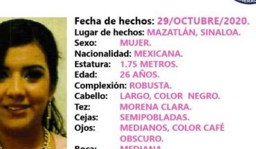 Buscan a Glorimar, mujer desaparecida en Mazatlán