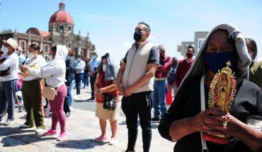 Celebración de San Judas y la Virgen de Guadalupe, sin fieles por COVID