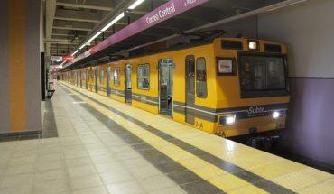 Descarriló una formación del subte de la línea E en la estación Independencia
