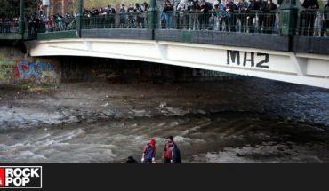 Detienen a carabinero involucrado en caída de joven al río Mapocho