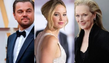 """Don't Look Up"": Jennifer Lawrence, Leo DiCaprio y Meryl Streep encabezan este film de Netflix"