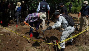 Durante mandato de AMLO han hallado más de mil fosas clandestinas