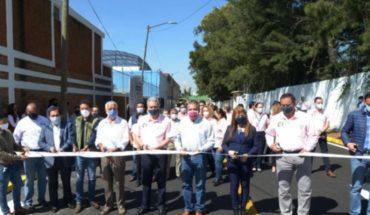 Edil de Morelia inaugura rencarpetamiento de la calle Bachiller