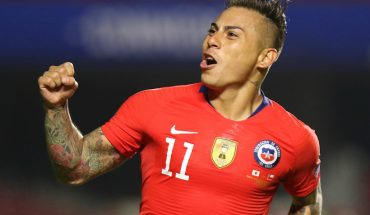 Eduardo Vargas encabeza la lista de los 23 convocados por Rueda