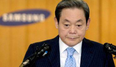 El presidente de Samsung, Lee Kun Hee, murió hoy a los 78 años
