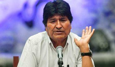 """Evo Morales pide que los votantes ejerzan su derecho a voto """"pacíficamente"""""""