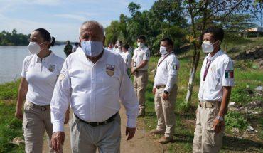 Gobierno despliega operativo en frontera sur ante caravana de migrantes