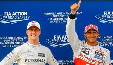 Hamilton igualó el récord de Schumacher con 91 victorias en la F1 tras ganar el GP de Eifel