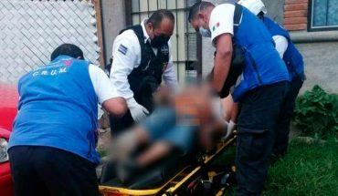 Hombre cae de un cuarto piso y queda herido en Morelia, Michoacán