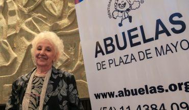 Hoy Estela de Carlotto, presidenta de Abuelas de Plaza de Mayo, cumple 90 años