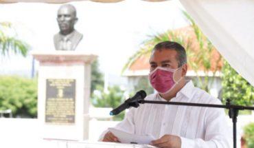 """Hoy rendimos homenaje a un hombre íntegro, cuyos ideales vamos a replicar para transformar Michoacán y México"": Raúl Morón"