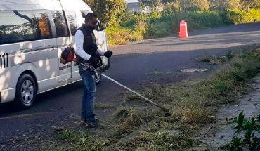 Inicia Ayuntamiento de Morelia jornada de limpieza en vialidad del Río Grande