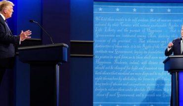 Joe Biden supera a Donald Trump tras primer debate