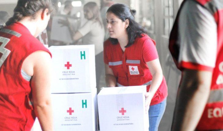 La Cruz Roja Argentina ya ejecutó el 71% de las donaciones