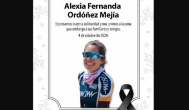 La ciclista Alexia Ordóñez y su padre mueren al ser arrollados en Edomex