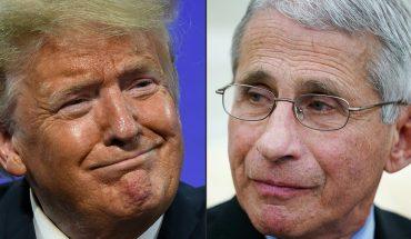 'La gente está cansada de todos estos idiotas': Trump estalla contra Fauci