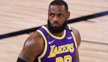LeBron James festeja su cuarto anillo de la NBA con un enorme Mercedes-Benz