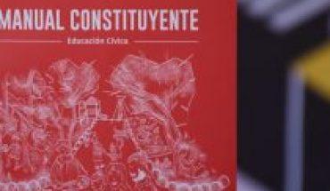 """""""Manual Constituyente"""", el documento descargable y gratuito que orienta en este histórico plebiscito"""