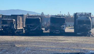Ministro Pérez viaja a La Araucanía tras ataque incendiario en Angol