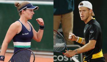 Nadia Podoroska y Diego Schwartzman van por la hazaña en Roland Garros: horario y tv en Argentina